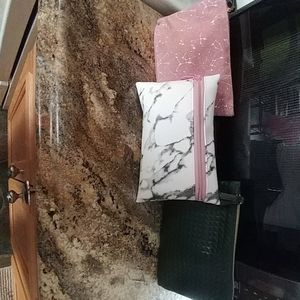 My unused brand new ipsy bags with their few items